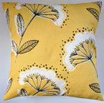 "Cushion Cover in Next Yellow Cow Parsley 16"" Matches Curtains Bedding"